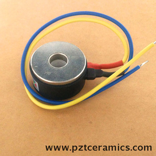 piezoelectric sensor for wheel balancing machine