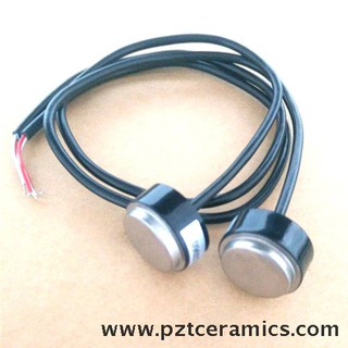 Piezo Sensor for Ultrasonic Flow Meter