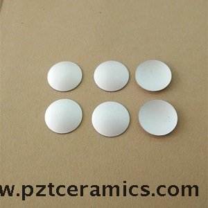 Piezoceramic Spherical Cap Focused Element