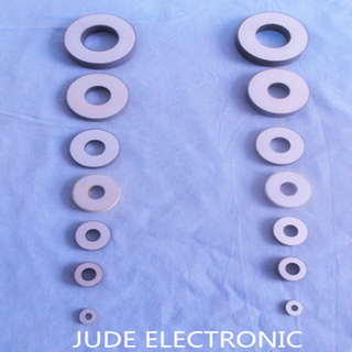 Piezoelectric ceramic rings
